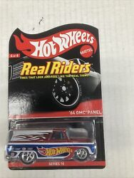 Hot Wheels Real Riders 64 Gmc Panel New With Plastic Case