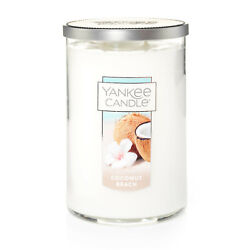 Yankee Candle Coconut Beach Large 2 Wick Tumbler Candle $20.99