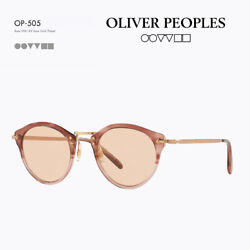 Oliver Peoples 30th Anniversary Model Sunglasses Op505 Rose