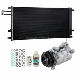 For Chevy Silverado And Gmc Sierra Ac Compressor W/ A/c Condenser And Repair Kit Csw