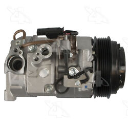 A/c Compressor And Clutch- New Four Seasons 198368