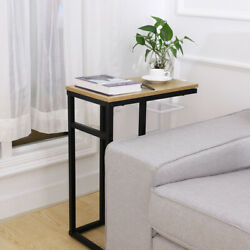 Modern Style Side Small Sofa End Table Bed Side Narrow Snack Table Stand Us