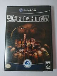 Def Jam Fight For Ny Nintendo Gamecube 2004 Game In Case - No Manual