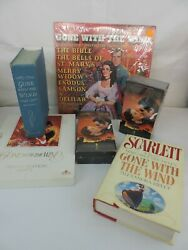 Lot Of Gone With The Wind Books Sealed Vhs Vhs And Record Lp