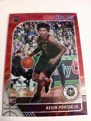 2019-20 Panini Prizm Hoops Premium Stock Kevin Porter Red Wave Rookie Rc 225 1/1