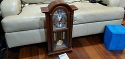 Vintage Waltham Tempus Fugit 31-day Chiming Wall Clock Pickup Only Houston Tx