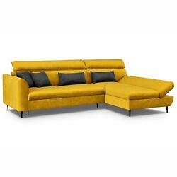 Corner Sofa Beno With Sleep Function And Bed Box Sofa Bed Interior Design Couch