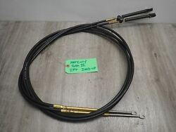 New Teleflex Mercury Outboard Control Cable Gen Ii 2003-up 11 Ft Pair Cc18911