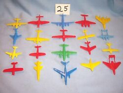 Lido Marx Renwal Cracker Jack Multiple Products Toymakers Mpc Planes Playset Toy