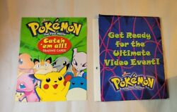 Rare Pokemon The First Movie Catch 'em All Trading Cards Used Condition