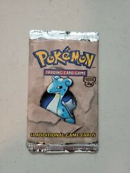 Pokemon Fossil Booster Pack - Factory Sealed And Unweighed Vintage
