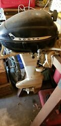 Scott Mcculloch 5 Hsp Outboard Motor Vintage