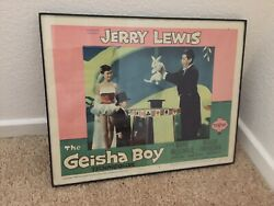 Jerry Lewis The Geisha Boy Lobby Card With Mirror Table Expose