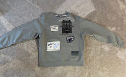 Christian Dior Archives Patch Logo Sweater Size Xl
