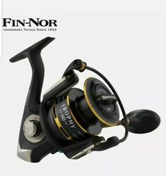 Fin-nor Graphite Body Spinning Reel Trophy 80
