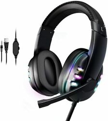 Immersive Gaming Headset For Ps5 Xbox Series X Nintendo Switch Pc Headset