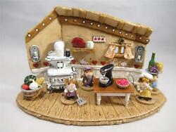 Wee Forest Folk Ltd Editions The Tiny Savory Chef Set - Custom Display And 4 Mice