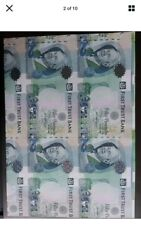 V2 Rare Proof Uncut Pair Of 50 Pounds First Trust Bank 2009 Northern Ireland