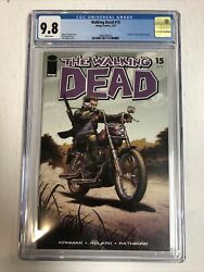 Walking Dead 2005 15 Cgc 9.8 White Pages | Death Chris, Rachel And Susie