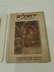 Jerusalem The Old City Pictures By David Gilboa 15 Pictures 1 Missing Signed1953