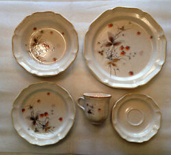 Mikasa Dishes - Berry Vale - New Old Stock - Complete Service For 8 - Vintage