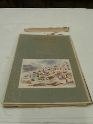 Old Safad By David Gilboa.published By Daattel-aviv 1953 Very Rare