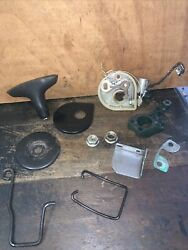 Mcculloch 110 Chainsaw -variety Lot- Of Original Used Parts.