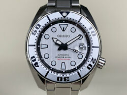 New Seiko Prospex Silver Sumo Limited Edition Thailand Only Watch Spb029j1 Bandp