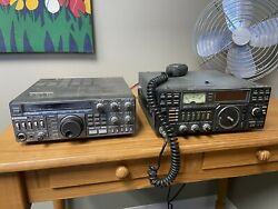 Icom Ic271h And Kenwood Ts-430s Transceiver - For Parts/repair
