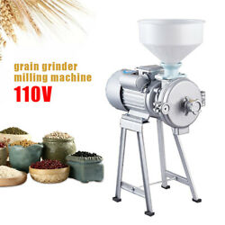 Commercial Cast Iron Mill +funnel Wet 9.57a Grinder Machine For Corn Grain Wheat