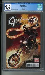 Ghost Rider 2011 1 Rare Neal Adams Variant Cover Cgc 9.6 Universal Label Wp