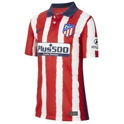 Nike Athletico Madrid Youth Dri-fit Soccer Jersey Size Large