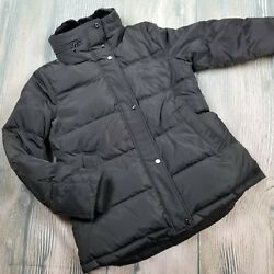 New Lauren Sz M Womenand039s Cold Weather Down Jacket 260 Jh161