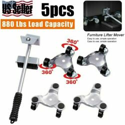 Heavy Duty Furniture Lifter With 4 Triangle Moving Sliders 880 Lbs Load Capacit