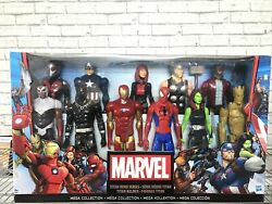 Marvel Titan Hero Series Mega Collection - Pack Of 11, 12 Inch Figures. New