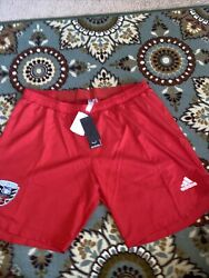 Dc United Red Shorts Adidas Authentic Aeroready Mls 2xl Soccer