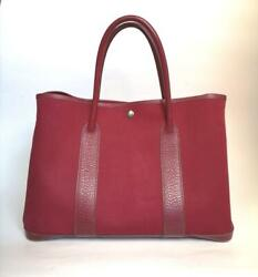 Hermes Garden Party Pm 36 Rouge Imperial