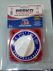 Perko 8511dp Battery Selector Switch Usa Special Edition