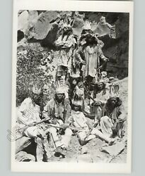 Paiute Indian Male Warriors W Weapons C 1880 By Jk Hillers 1950s Press Photo