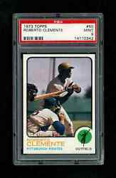 1973 Topps Roberto Clemente Pittsburgh Pirates 50 Psa 9 Mint Only 7 Higher
