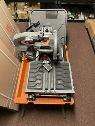 Ridgid R4092 10 Wet Tile Saw With Stand