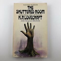 The Shuttered Room H.P. Lovecraft First Panther Printing 1970 Paperback Good
