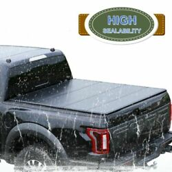 For 2002-18 Dodge Ram 19-20 Classic Tonneau Cover 6.4and039 Hard Quad-fold Truck Bed