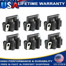 6 Ignition Coils Fits Johnson Evinrude 582508 18-5179 183-2508 Outboard Engine