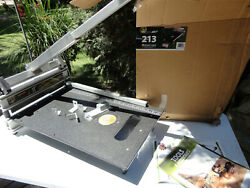 Bullet Tools - 213 13 In. Ez Shear Siding Cutter W/blade Complete New Guillotine
