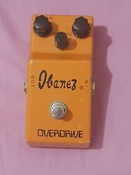 Ibanez Od-850 Fuzz Pedal Vintage 70's In Great Condition