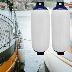 Boat Bumpers Fenders Docking Set 2pcs Inflatable Marine Pvc Anchor Yacht