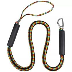 Boat Docking Rope Bungee 4000lbs Stretchable Line For Kayak Jet Ski Marine Yacht