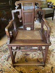 Pair Of Rare Antique Chinese Chairs