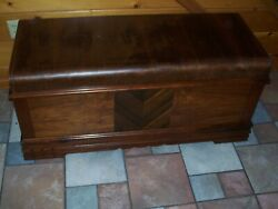 Ed Roos Cedar Chest With Removeable Tray